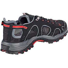 Salomon Techamphibian 3 Shoes Women black/dark cloud/papaya
